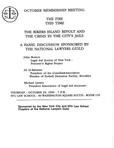 1990.10.25 The Fire This Time (Letwin Rikers Forum)