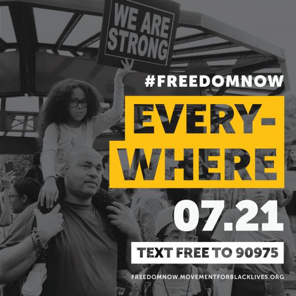 #FreedomNow