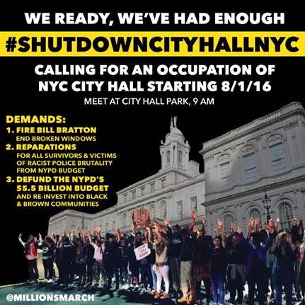 Shutdown City Hall